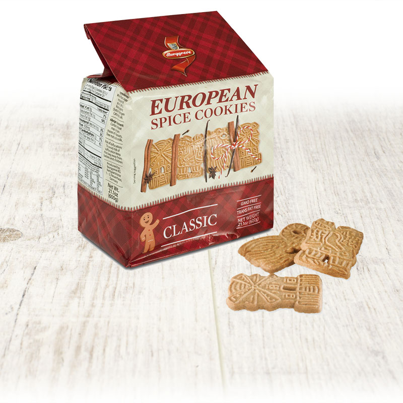 European Spice Cookies Classic Borggreve Biscuit Factory Germany