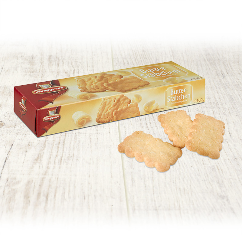 Fine butter biscuits - Borggreve rusk and biscuit factory, Germany