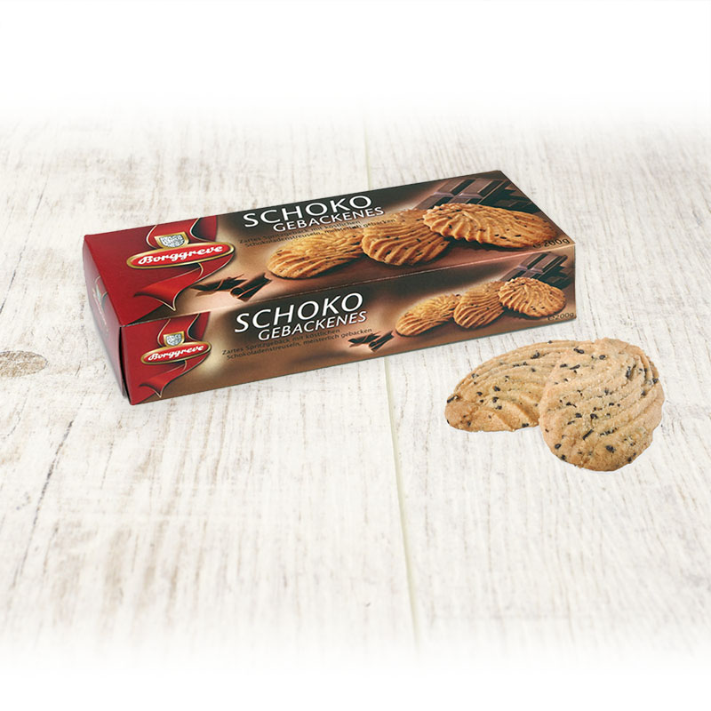 Chocolate biscuits - Borggreve rusk and biscuit factory, Germany